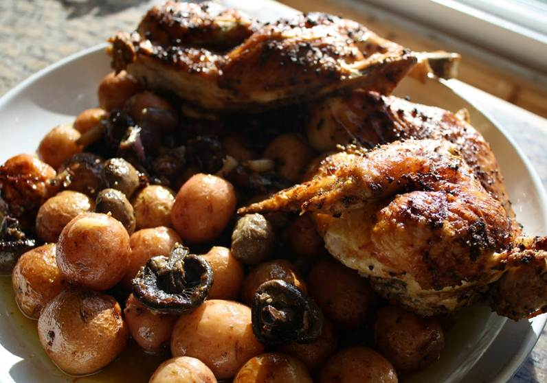 Pollo Tradicional Receta de la abuela