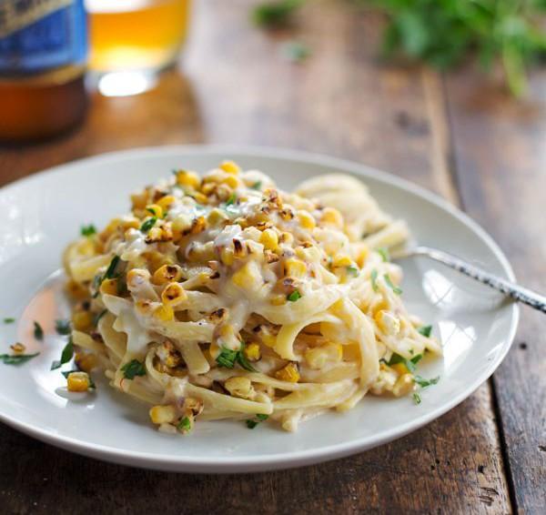 Scialatiellio chipotle y maíz
