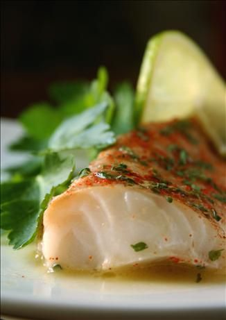 Filete de pescado al limón