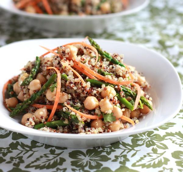 Ensalada Caprese de Quinoa