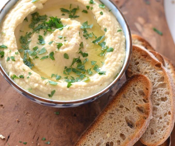 Hummus de Trufa Blanca