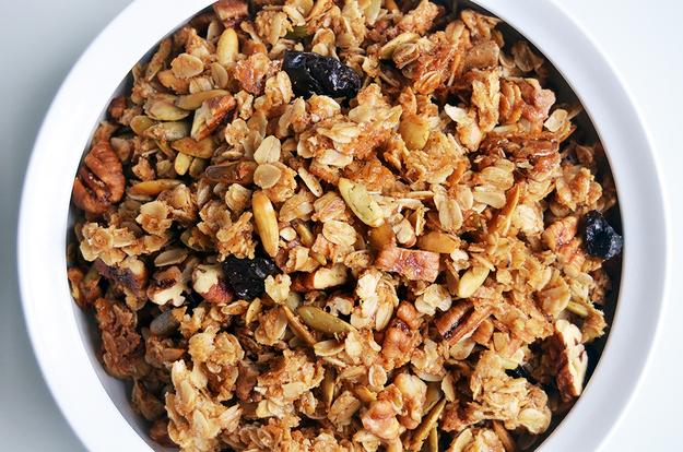 Granola con Aceite de Oliva Extra Virgen
