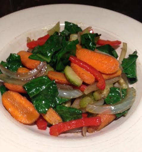 Almuerzo de verduras o cena ligera!