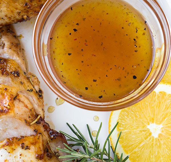 Pavo Glaseado con naranja y miel