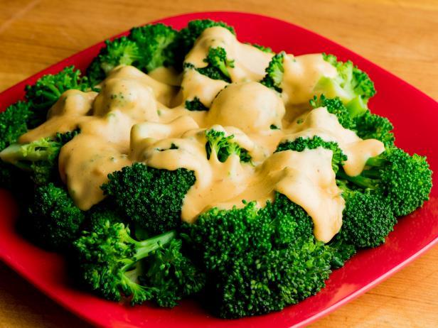 Brocolis en Salso de Queso Cítrico