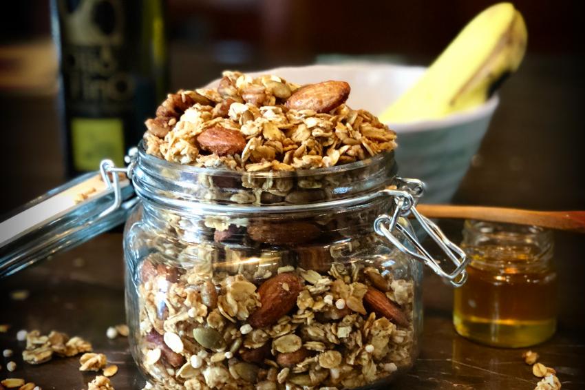 Granola con Aceite de Oliva Citrico