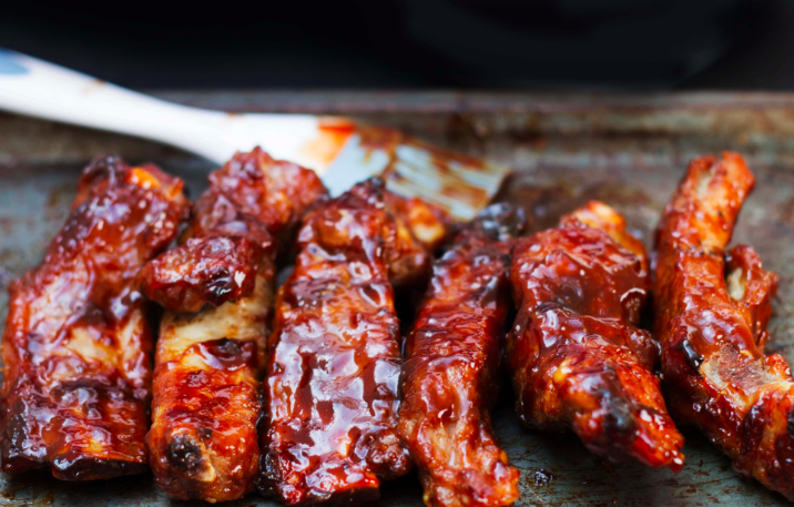 Salsa Balsámica BBQ para Costillitas o Pollo