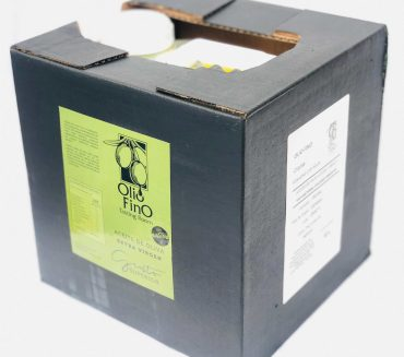 Aceite de Oliva Extra Virgen Picual 10L angulo